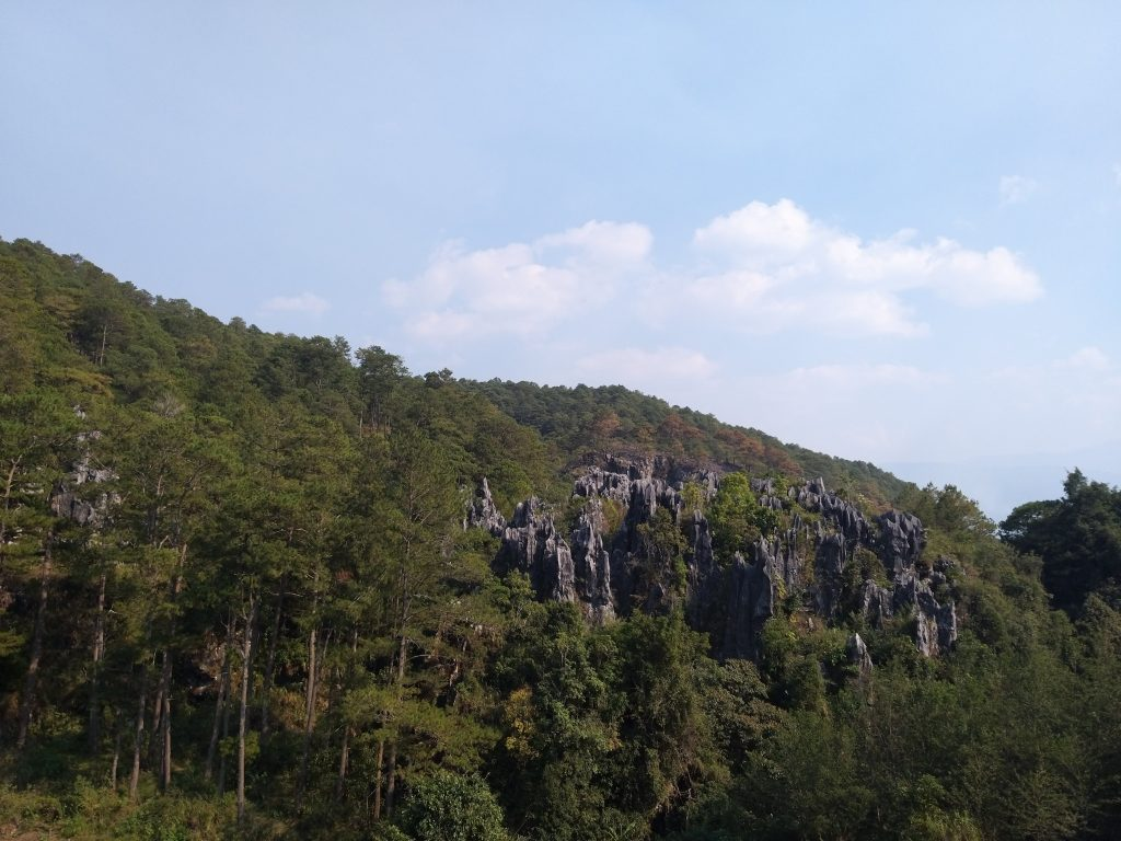 die kalkstein höhle Sumaguing von außen