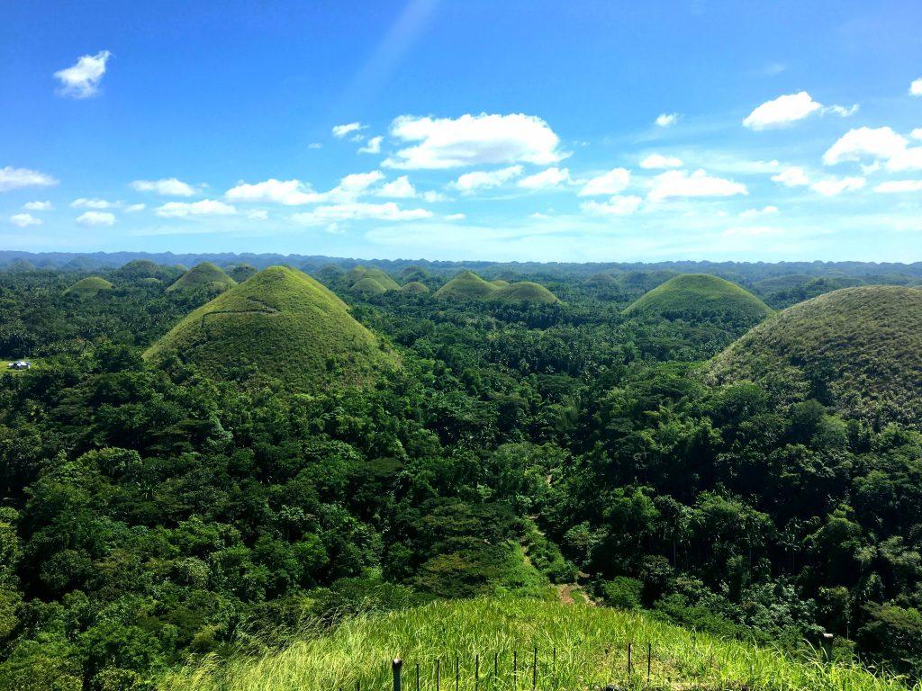 Aussichtspunkt Bohol auf die Chocolate Hills