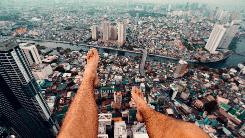 Großstadt Manila von oben Philippine Department of Tourism ©Sam_Kolder