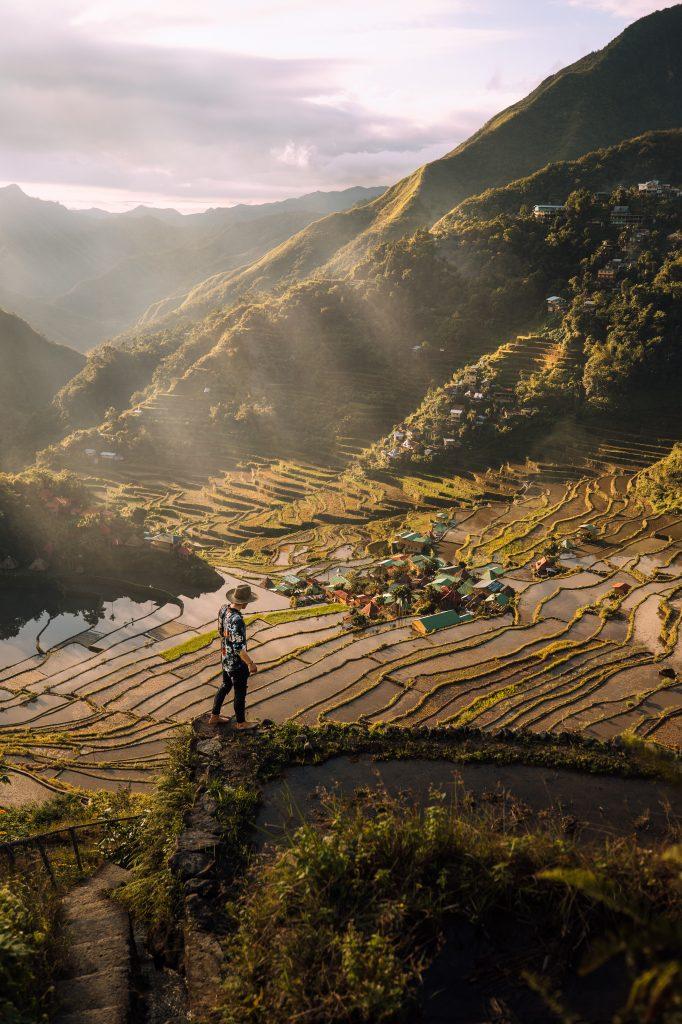 Wandern in den Reisterrassen von Nord Luzon ©Philippine Department of Tourism