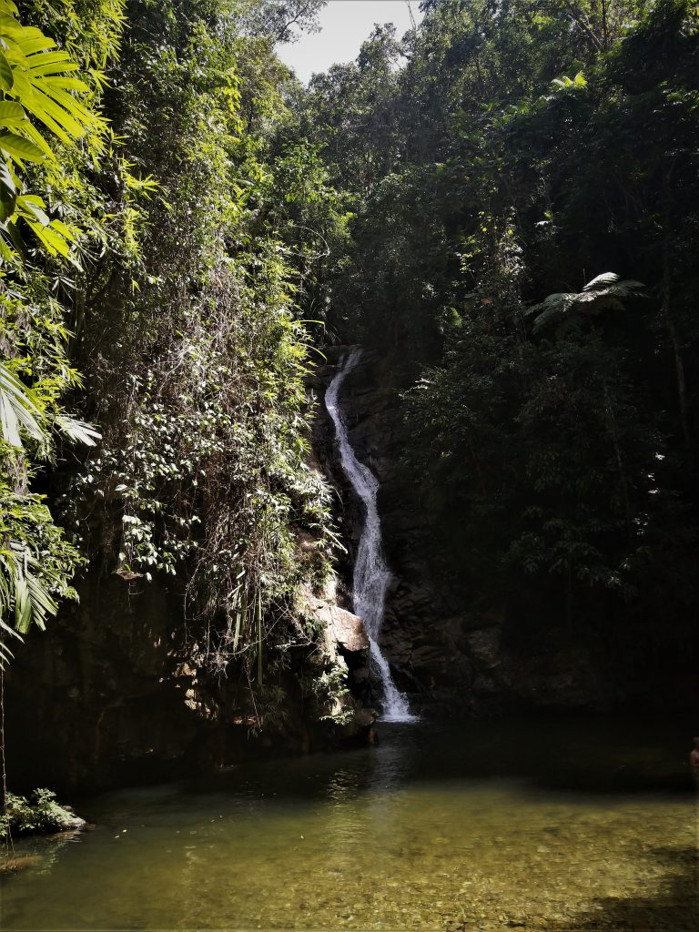 Pamuayan Falls in Port Barton