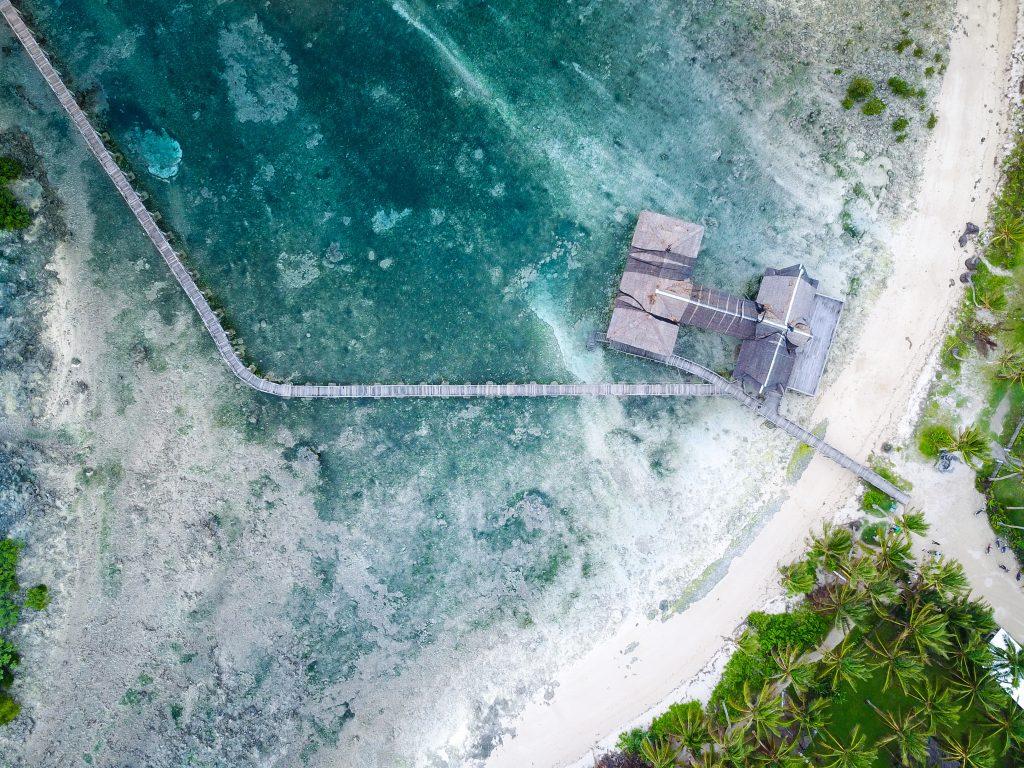 Luftaufnahme Cloud 9 Siargao @Joel-Vodell