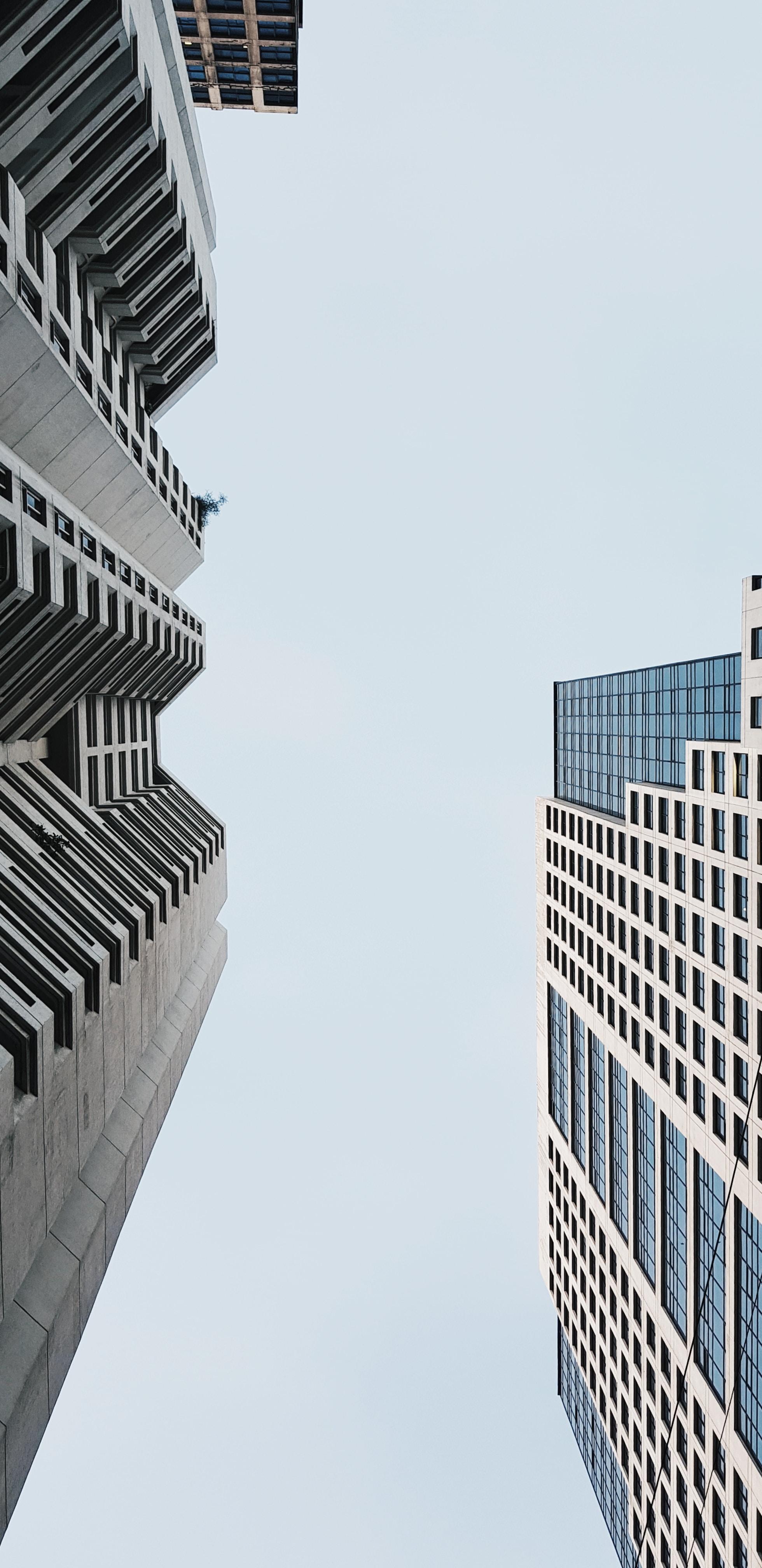 Hochhäuser im finanzzentrum von metro manila in Makati
