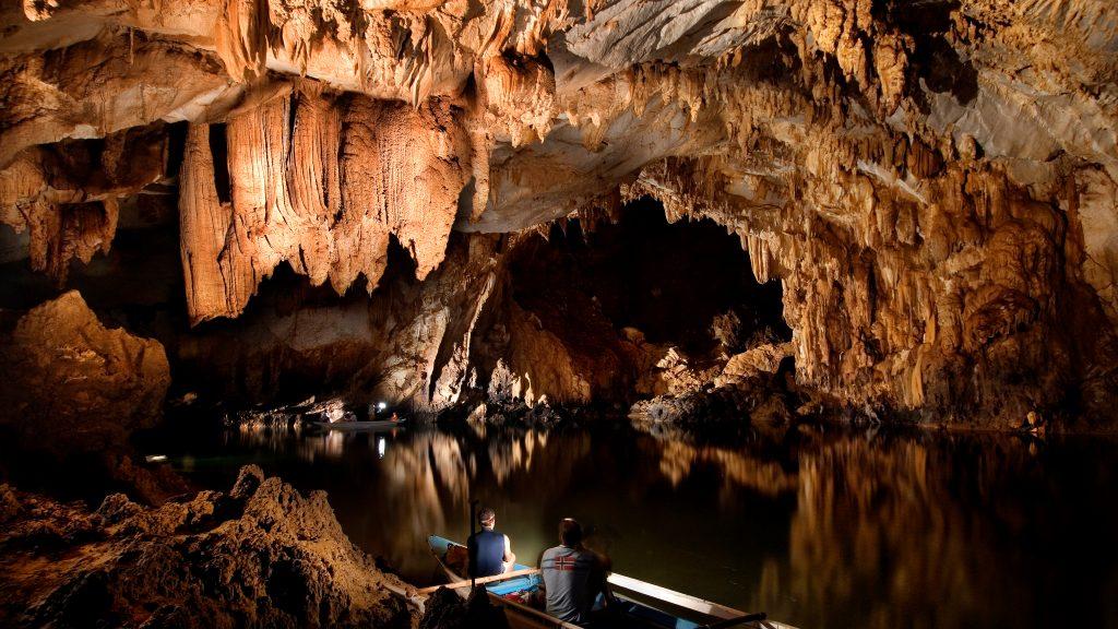 Der längste unterirdische Fluss der Welt bei Puerto Princesa © Philippine Department of Tourism